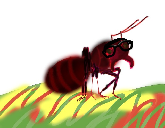 Pat the Ant (Inspired by Eric Carle)