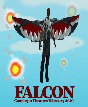 Mock Falcon Film Poster