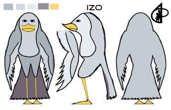 Izo colored turnaround