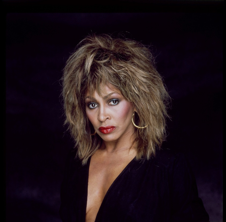 01/01/1985. Close Up Tina Turner